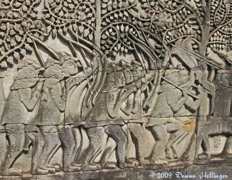 13th Century Wall at Bayon