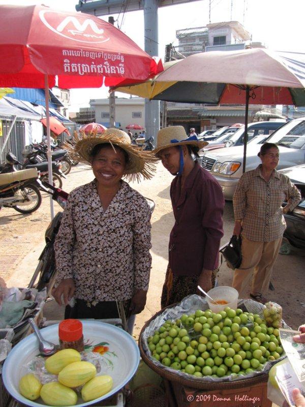 Market at Kampong Saom