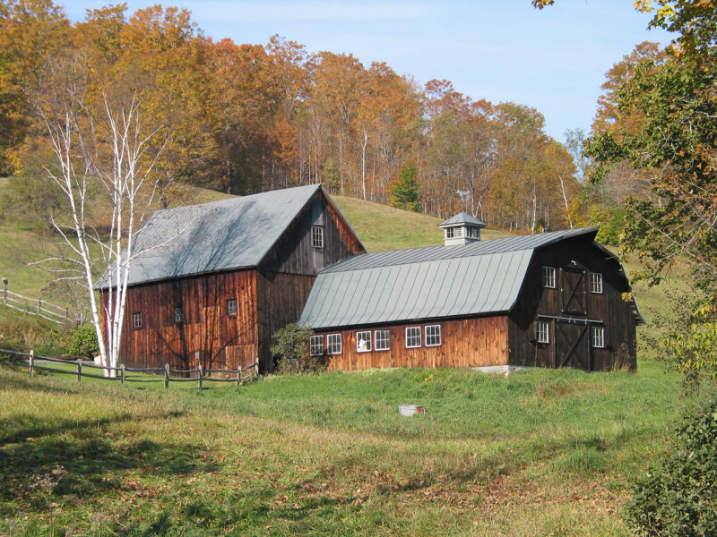 A Vermont Barn