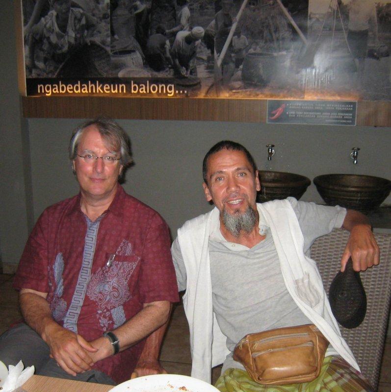 Peter and Iskandar