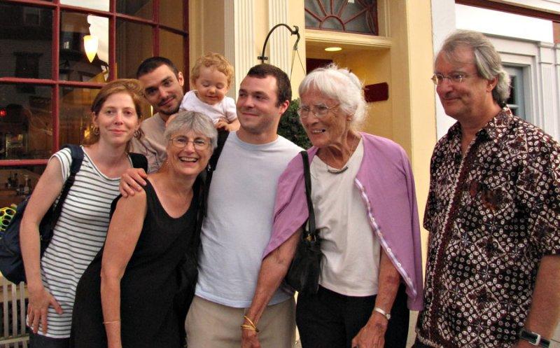 Charlotte, Luke, Martin Ann, Noel, Flora and Peter