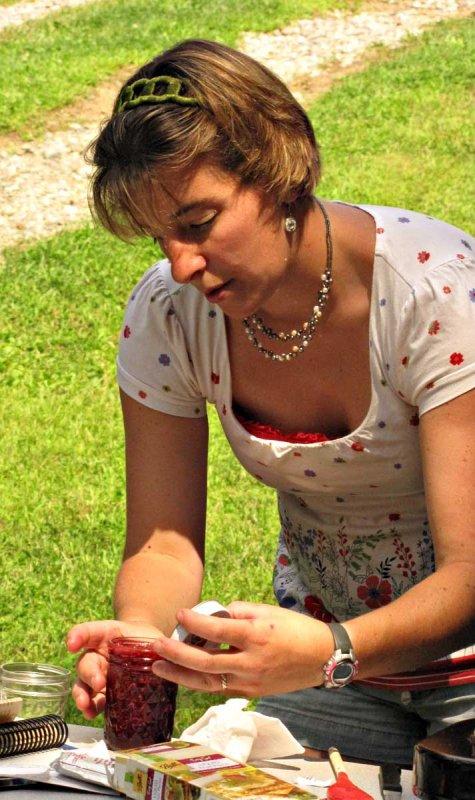 Tina Tuckerman at The Morrill Homestead