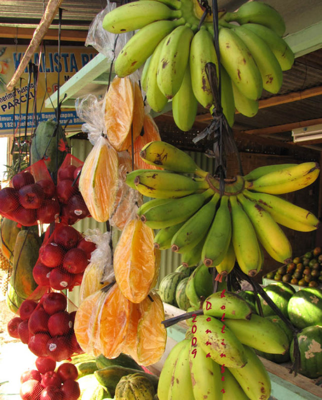 Starfruits, Bananas and Apples