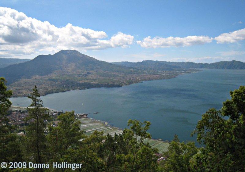 Batur Volcano and Lake
