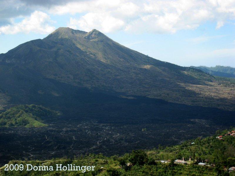 Batur Volcano and Lava Fields