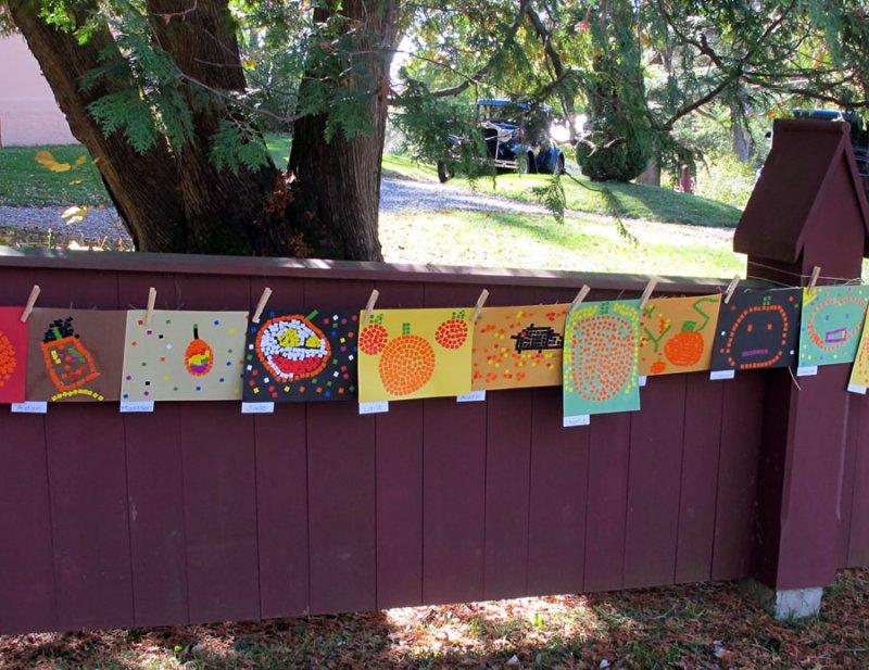 Newton School Art for Apple Fest