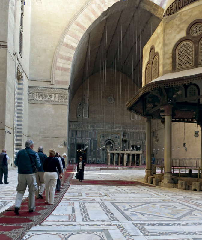 Mosque interior in the Old City