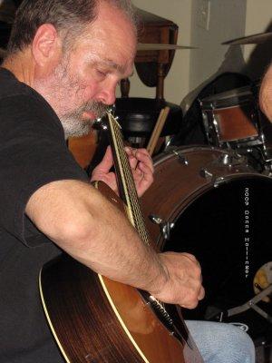 Reed Playing Guitar
