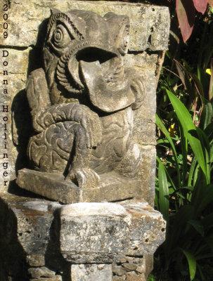 Walkway Statue