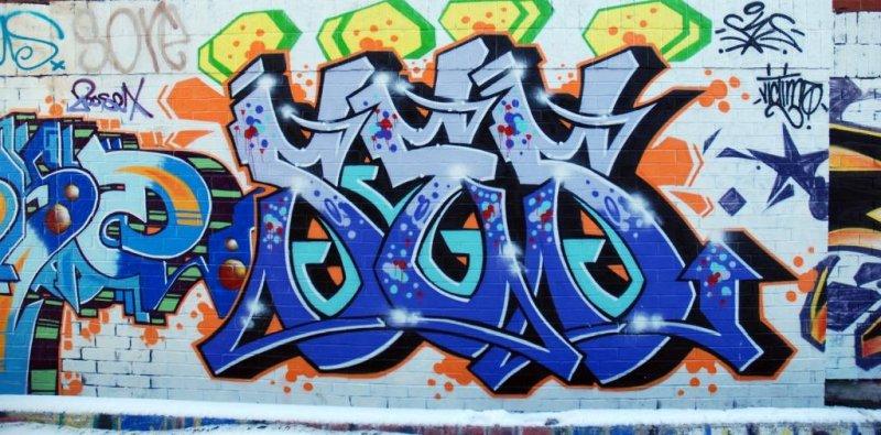 Graffiti Artwork near Queen West/Augusta in Toronto