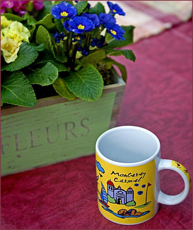 mug on table