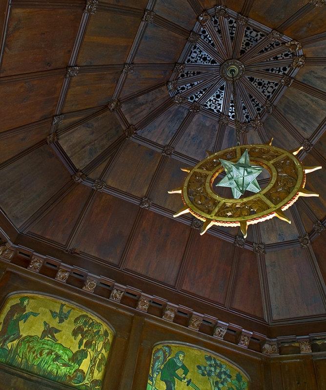 St. Josaphats Monastery, Tea House Ceiling