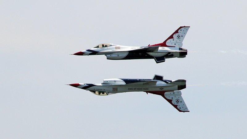 The US Air Force Thunderbirds