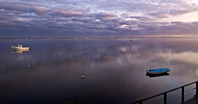 Windless Bay, Sunrise, Davis Park