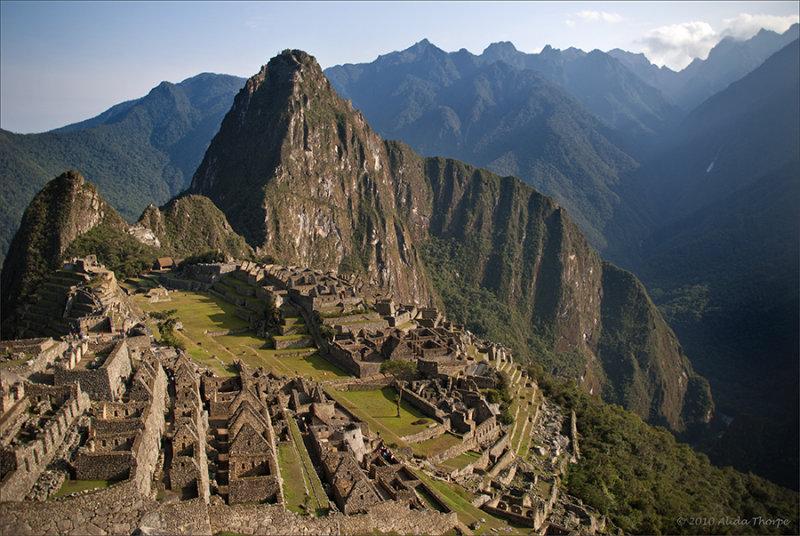 Machu Picchu, horizontal