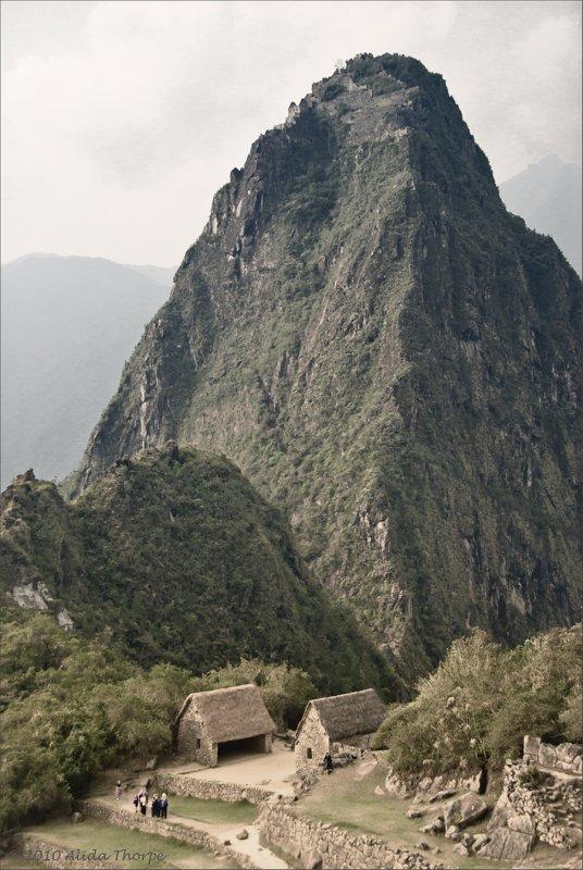 Machu Picchu, desturated