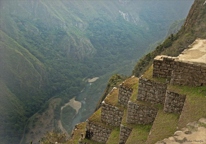 River Below, Machu Picchu