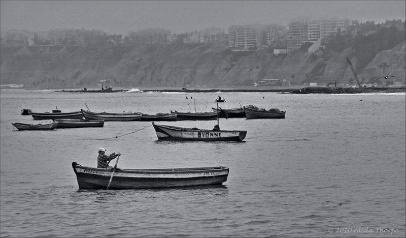 Lima Peru boats