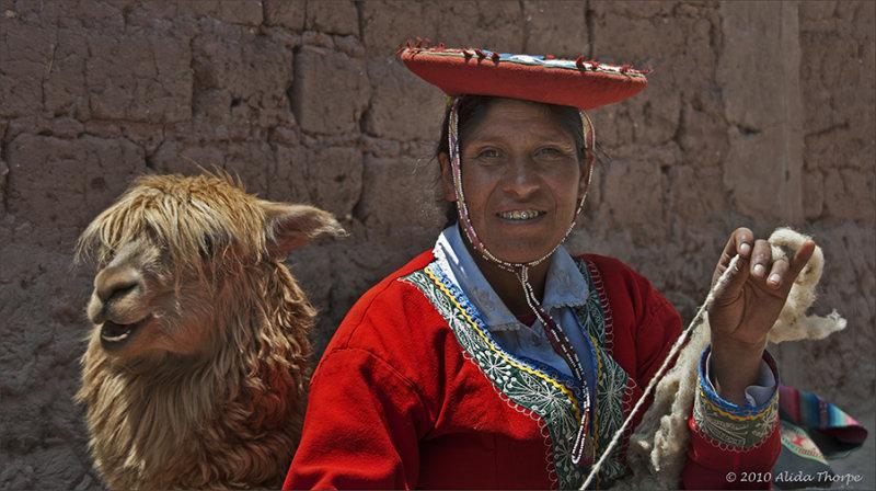 weaver, alpaca