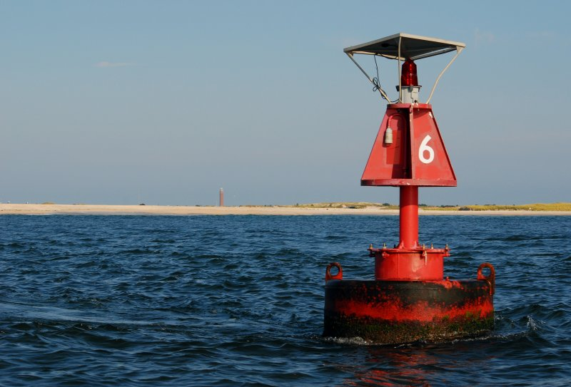 buoy 6 and tower