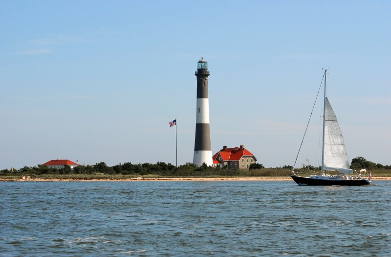sailing by the lighthouse