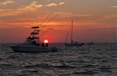 July 4th sunset