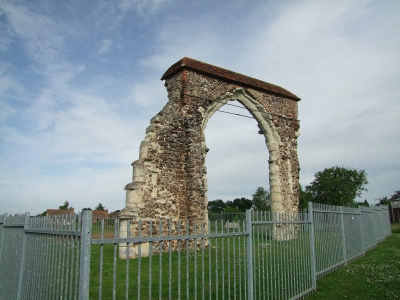 Bicknacre Priory Arch