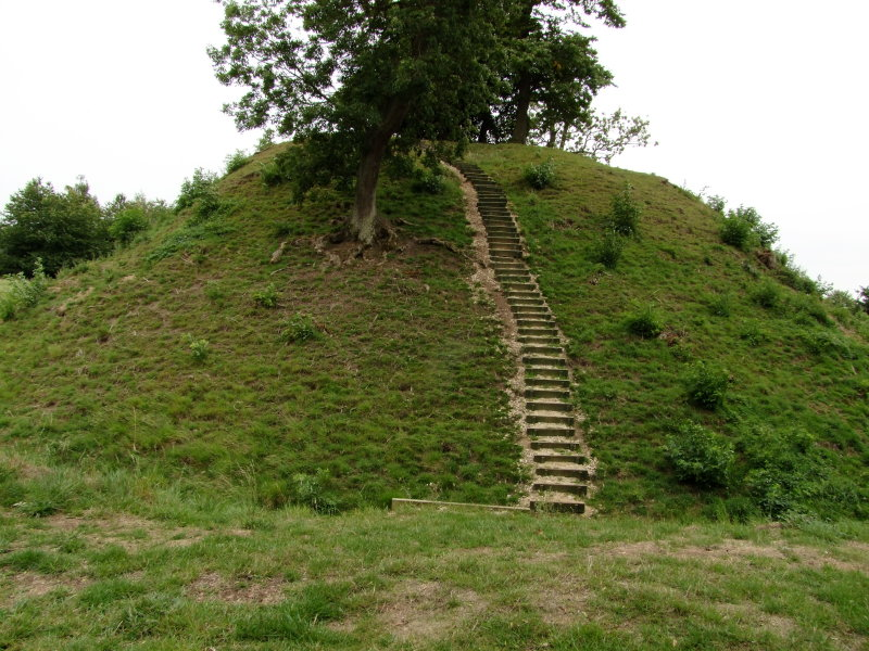55 steps lead to the summit