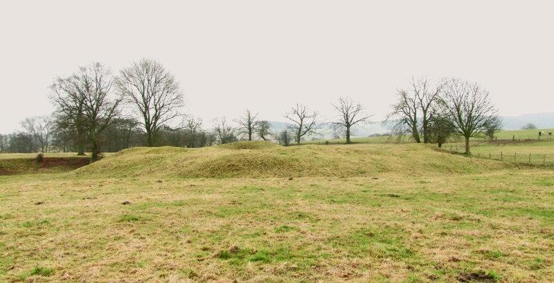 Corfham  Castle / 1