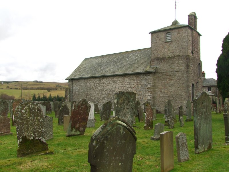 St. Cuthberts  Church  and  graveyard.
