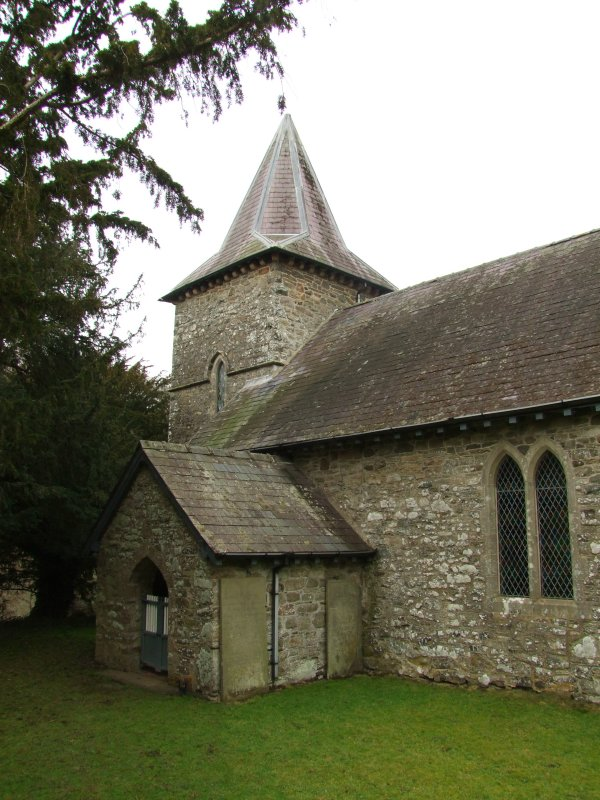 Tower  and  porch  of  c15th  century, St. Michaels  Church