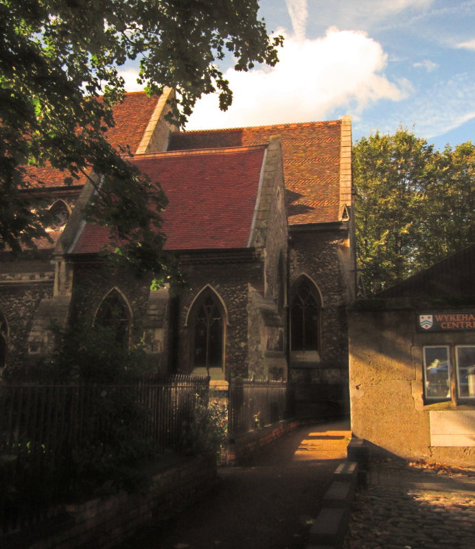 The  Lady  Chapel, from the  outside.