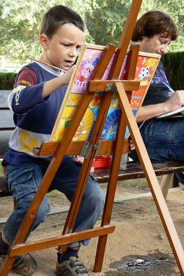 niño artista