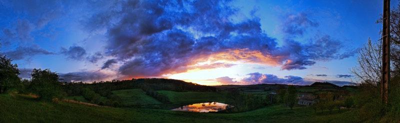 Sunset Panorama (2)