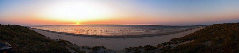 Northsea Beach Sunset 180º