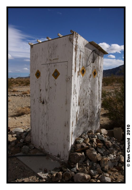 Desert Outhouse