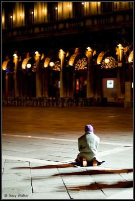 Almost alone in San Marco