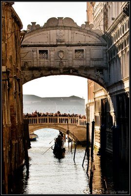 Bridge of sighs (and gasps judging by all those tourists)