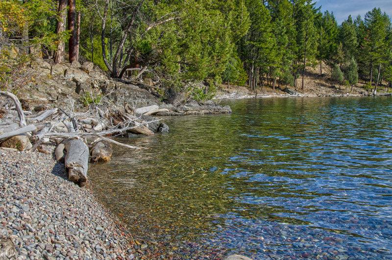 Flathead Shoreline - Clean Water