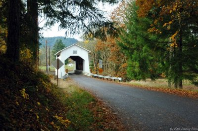 Coyote Creek Covered  Bridge
