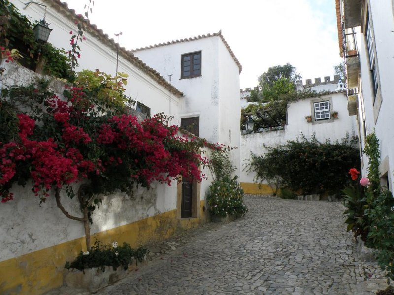 off the tourist track in Obidos