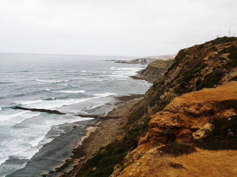 driving down the coast: near Ericeira