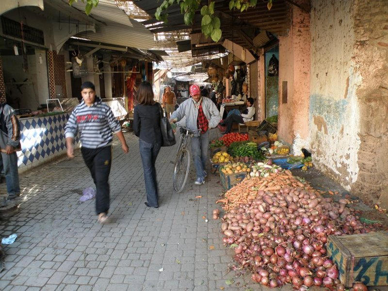 a small produce market