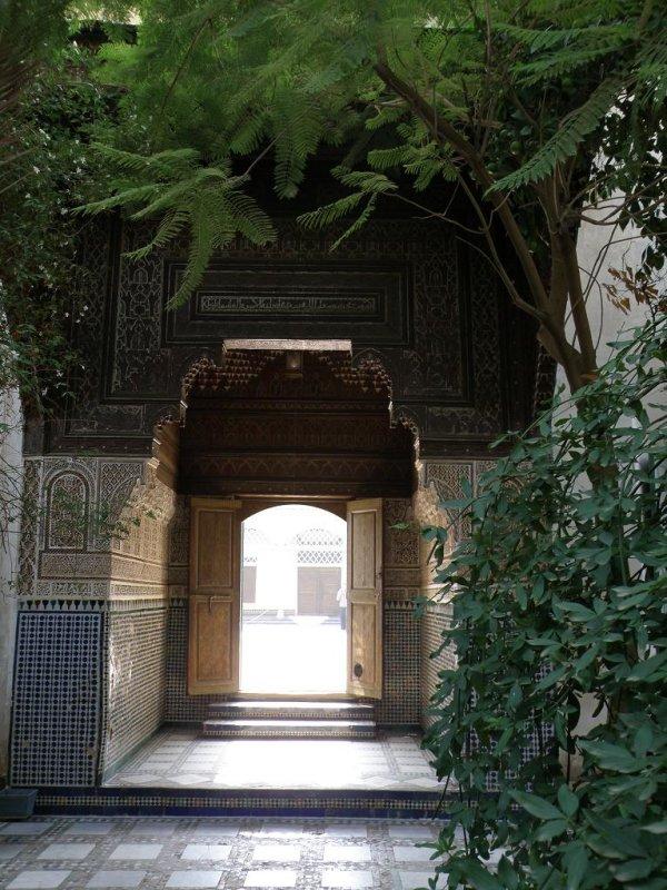 at the Bahia palace (16th c.)