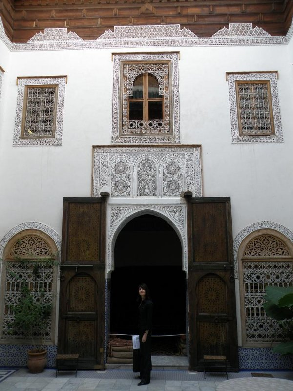 at the Dar Tiskiwin (a house museum of North African culture)