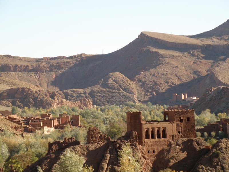 an old kasbah