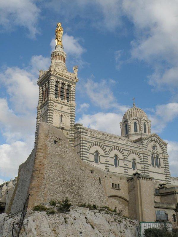 the church of Notre Dame de la Garde