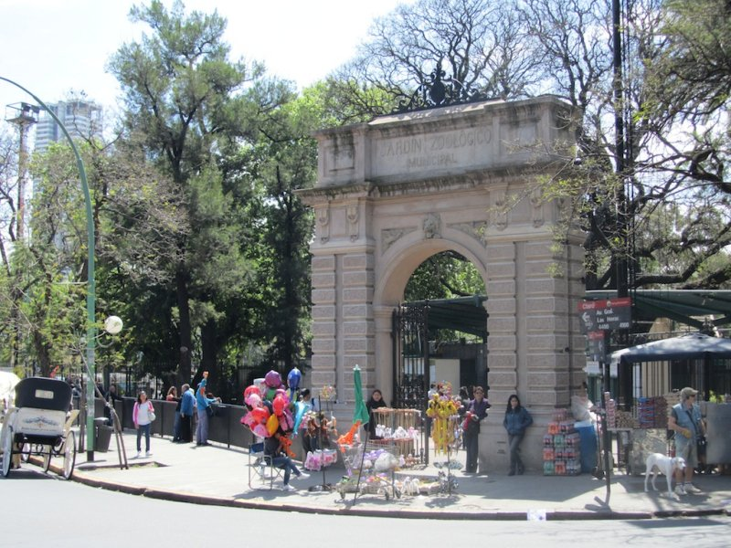 the zoo is in the Palermo district