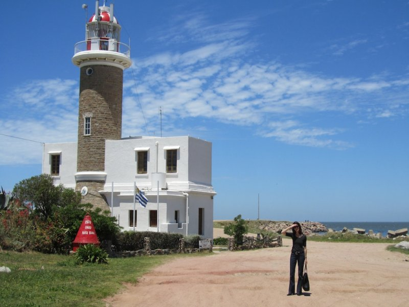 the lighthouse on the point