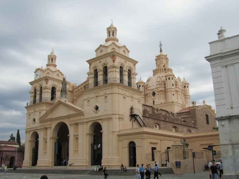 the city cathedral, from 16th to 18th c.